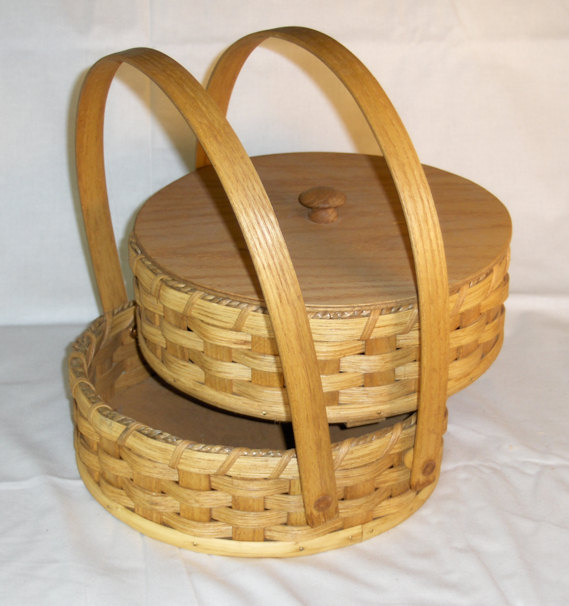 Round Double Pie Carrier